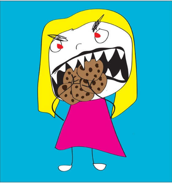 lindsey evanoff cookie monster