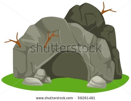 stock-vector-illustration-of-isolated-cartoon-cave-on-white-background-59261491